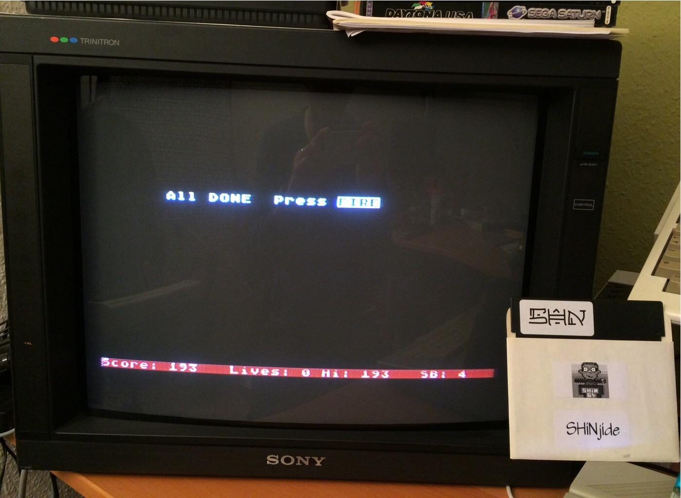 SHiNjide: Analog Man (Atari 400/800/XL/XE) 193 points on 2015-01-09 13:10:47