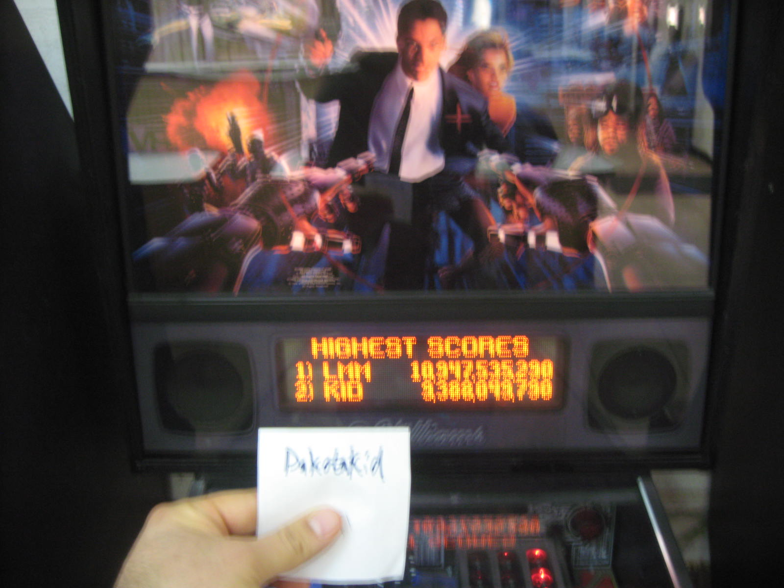 DakotaKid: Johnny Mnemonic (Pinball: 3 Balls) 9,388,049,790 points on 2015-01-09 21:48:03