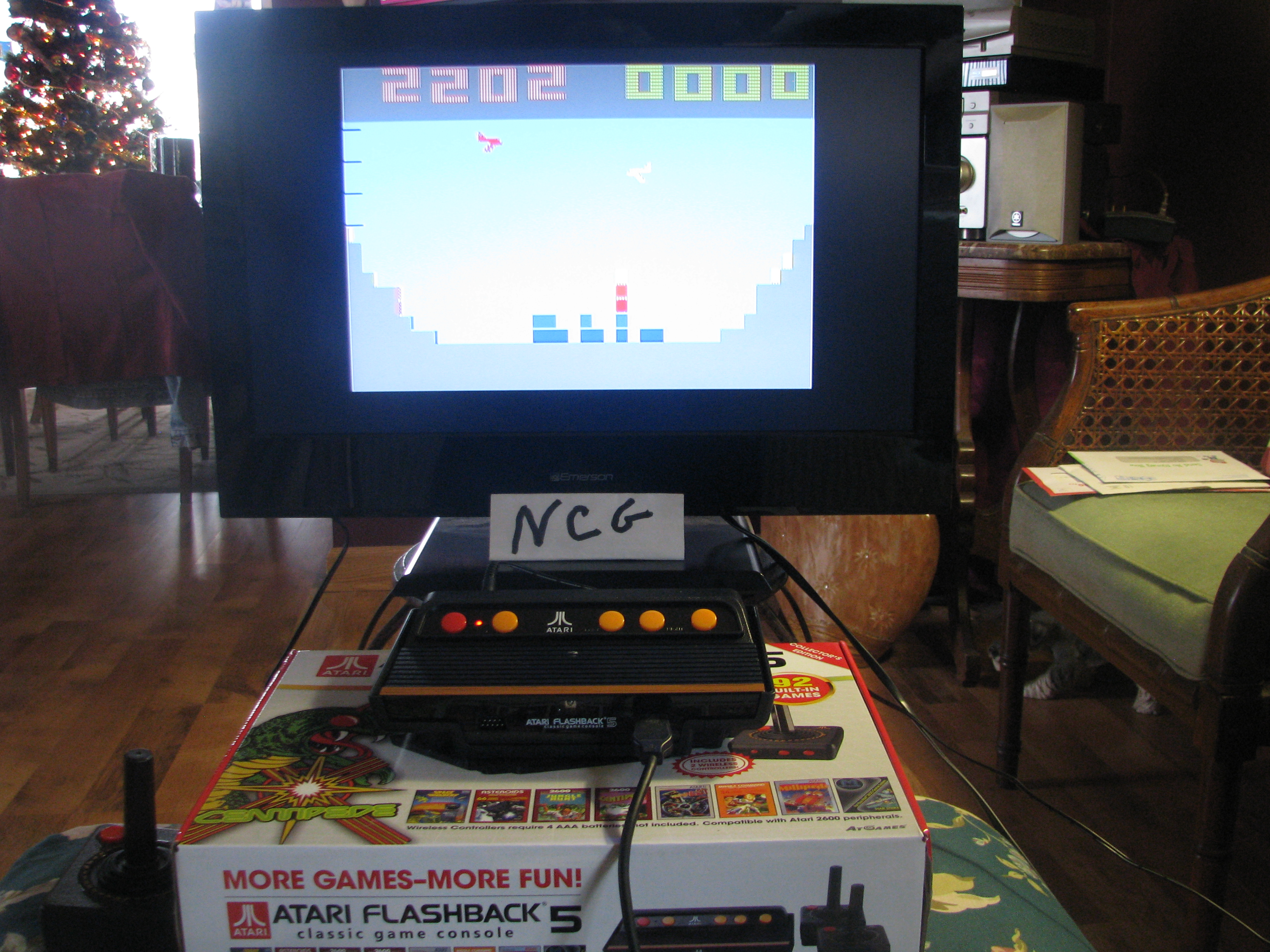 NorthCoastGamer: Canyon Bomber: Game 1B (Atari Flashback 5) 2,202 points on 2015-01-10 20:11:46