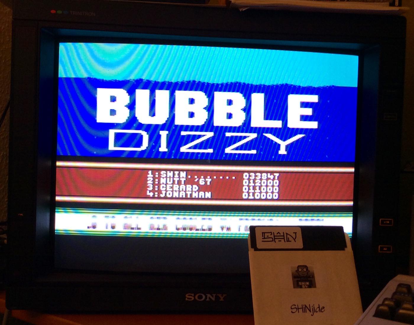 SHiNjide: Bubble Dizzy (Commodore 64) 33,847 points on 2015-01-11 04:20:04