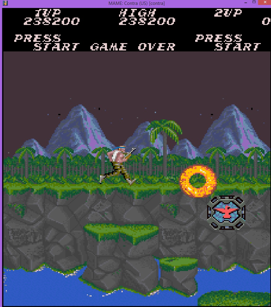 lenny2571: Contra [contra] (Arcade Emulated / M.A.M.E.) 238,200 points on 2015-01-11 08:26:06
