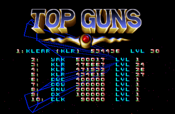 KlearKanvas: Tempest 2000: 2000 Standard Mode (Atari Jaguar Emulated) 534,436 points on 2015-01-15 01:20:28