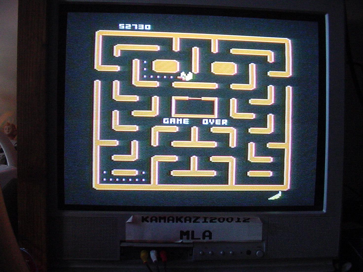 Ms. Pac-Man: Cherries Start 52,730 points