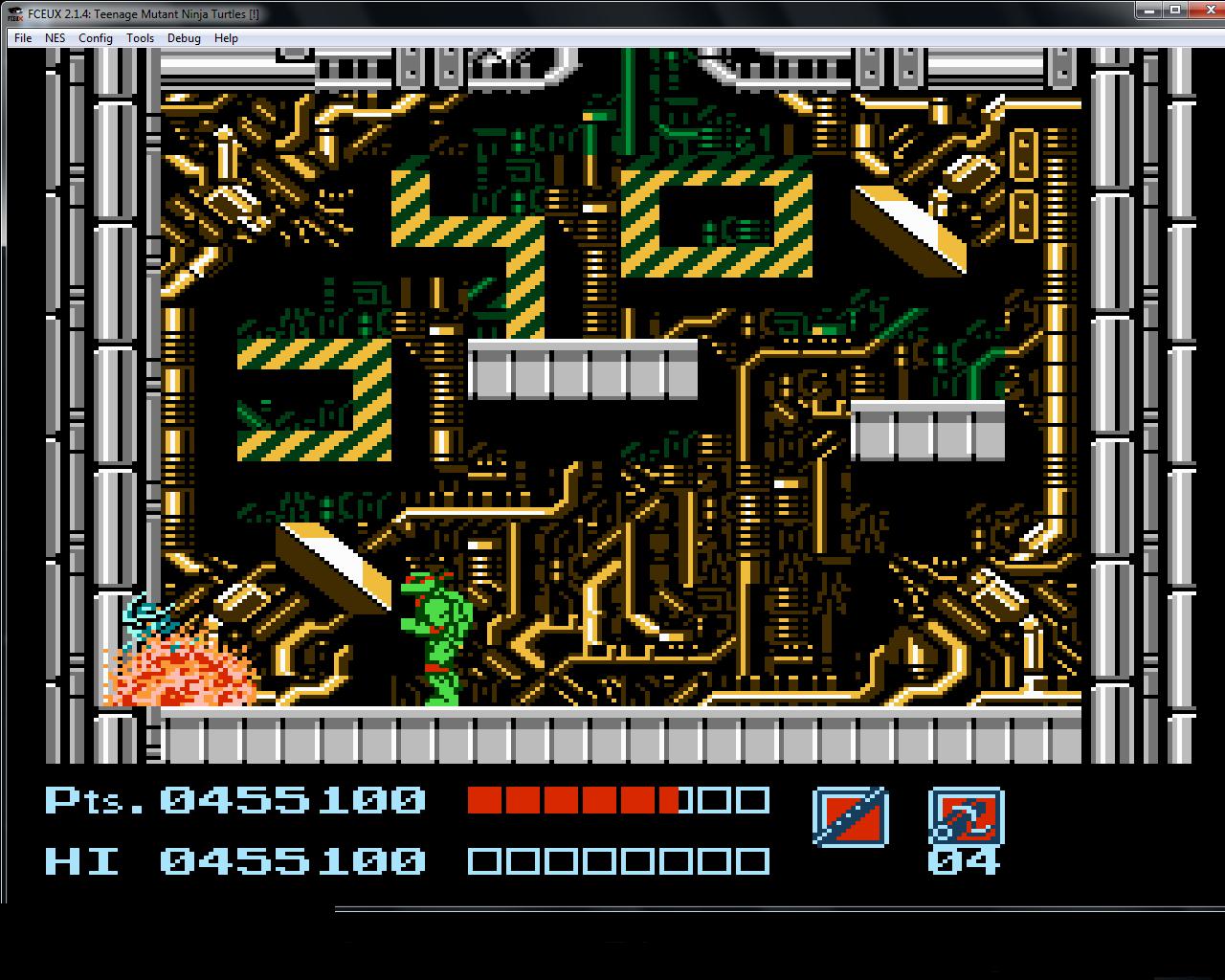 bubufubu: Teenage Mutant Ninja Turtles (NES/Famicom Emulated) 455,100 points on 2015-01-15 12:57:54