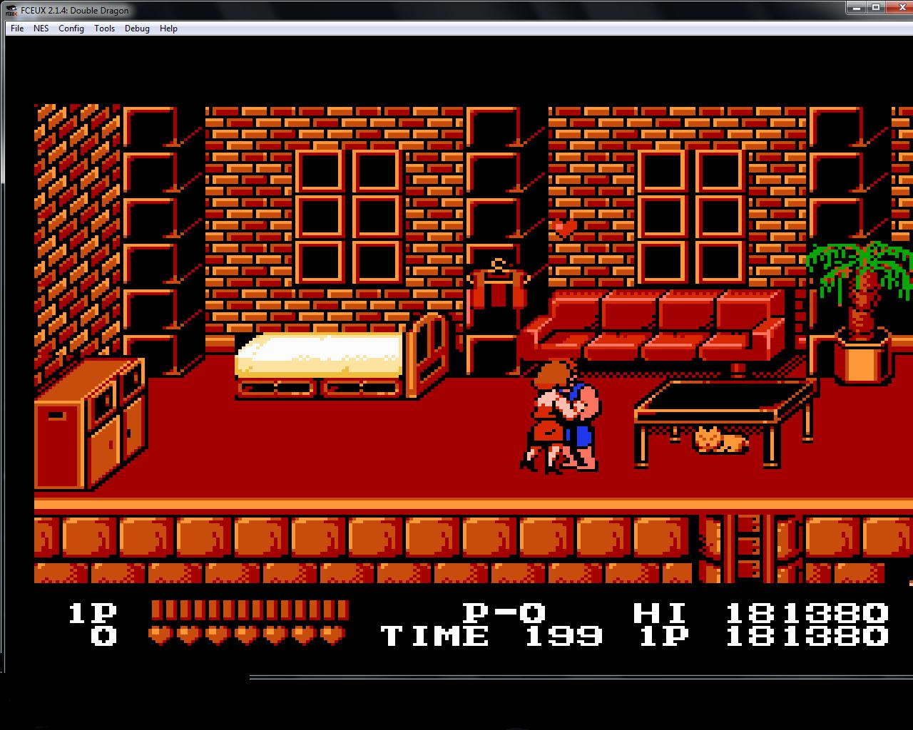 bubufubu: Double Dragon (NES/Famicom Emulated) 181,380 points on 2015-01-15 13:01:55