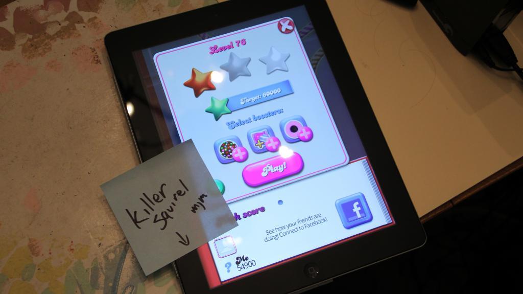 Candy Crush Saga: Level 076 54,900 points