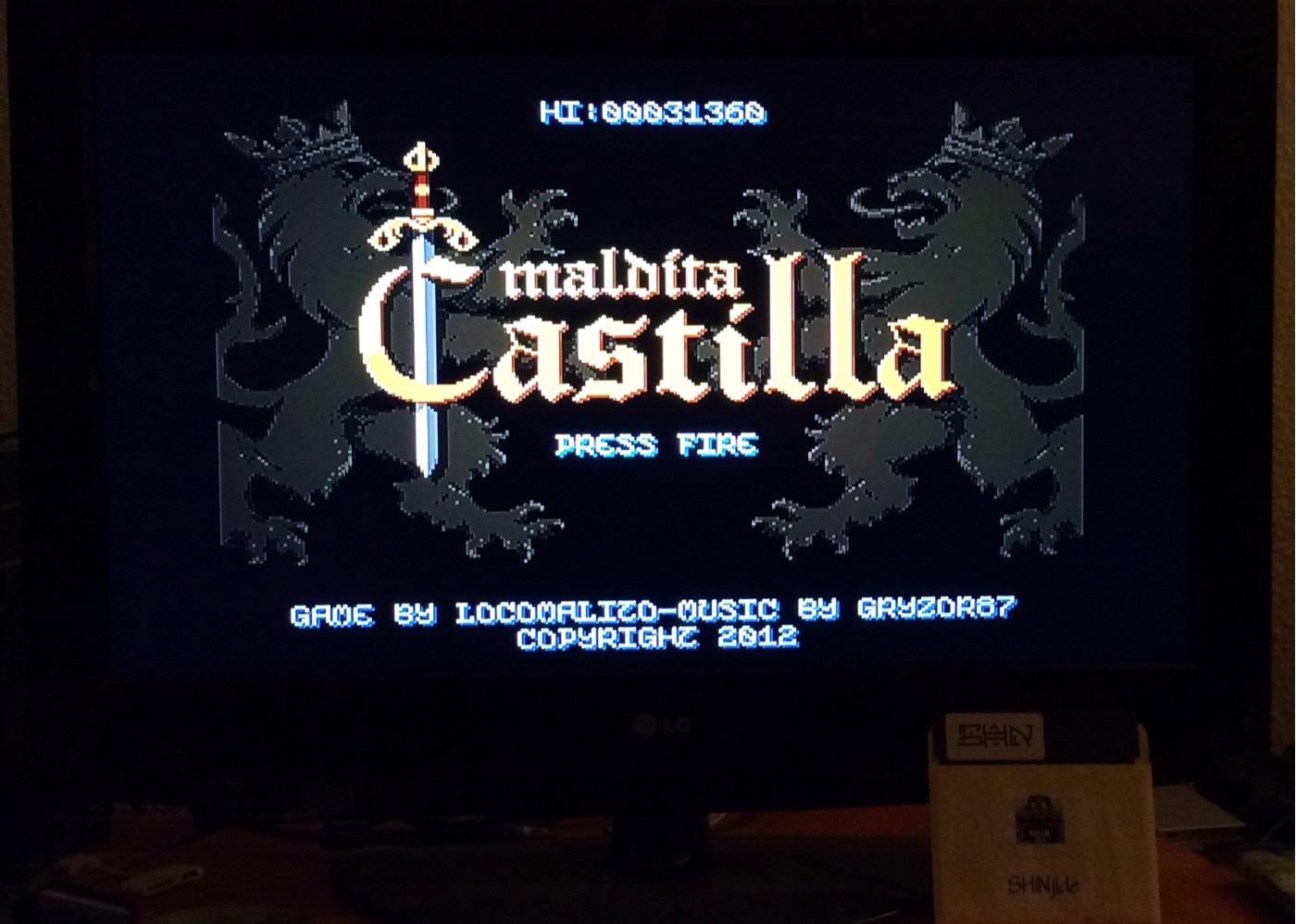 SHiNjide: Maldita Castilla (Ouya) 31,360 points on 2015-01-16 12:43:46