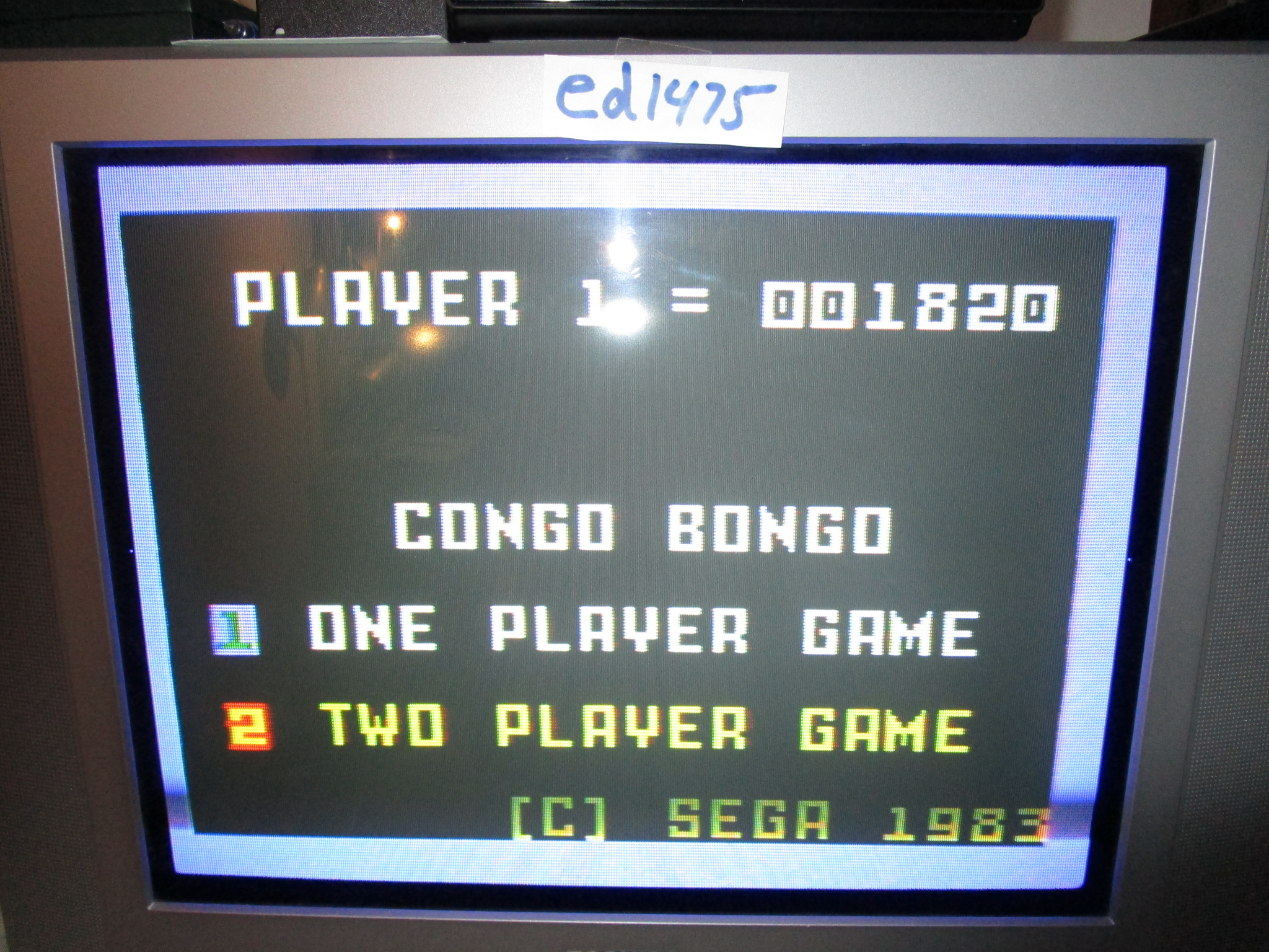ed1475: Congo Bongo (Intellivision) 1,820 points on 2015-01-16 13:11:50
