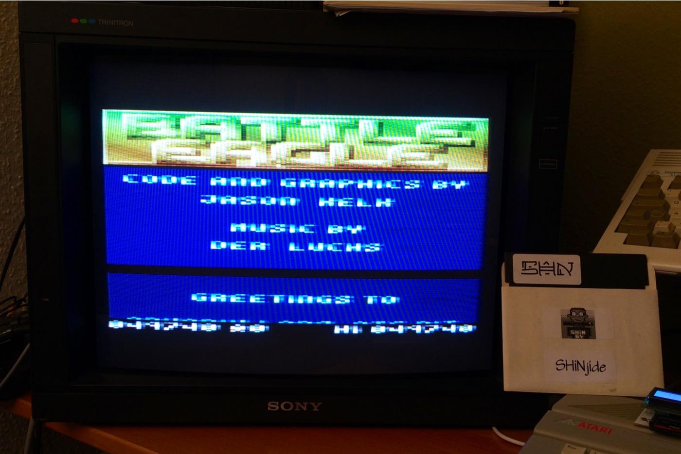 SHiNjide: Battle Eagle (Atari 400/800/XL/XE) 49,740 points on 2015-01-16 16:50:27