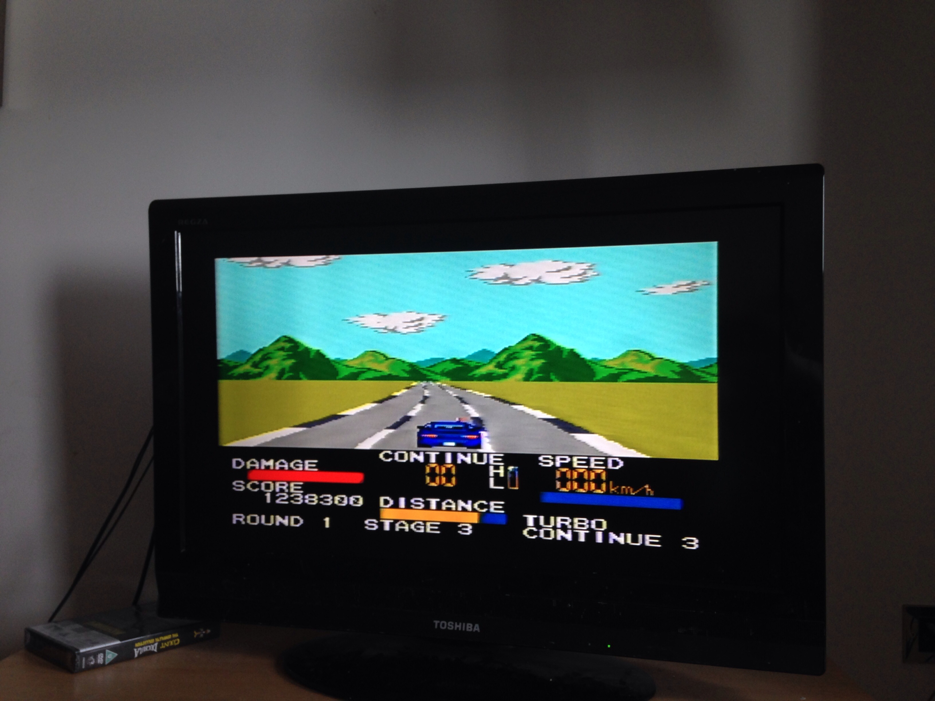 mechafatnick: Chase HQ (Sega Master System) 1,238,300 points on 2015-01-17 01:27:29