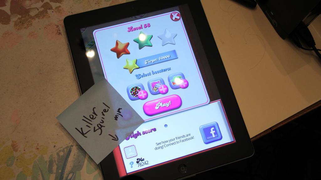 Candy Crush Saga: Level 058 78,242 points