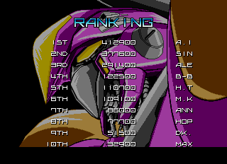BarryBloso: Blaze On [blazeon] (Arcade Emulated / M.A.M.E.) 122,500 points on 2015-01-17 04:40:49