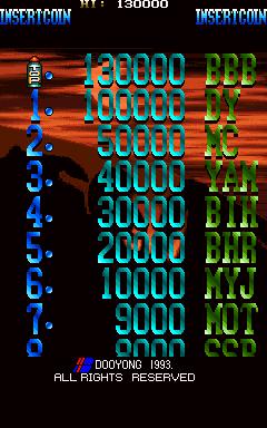 BarryBloso: Blue Hawk [bluehawk] (Arcade Emulated / M.A.M.E.) 130,000 points on 2015-01-17 04:43:00