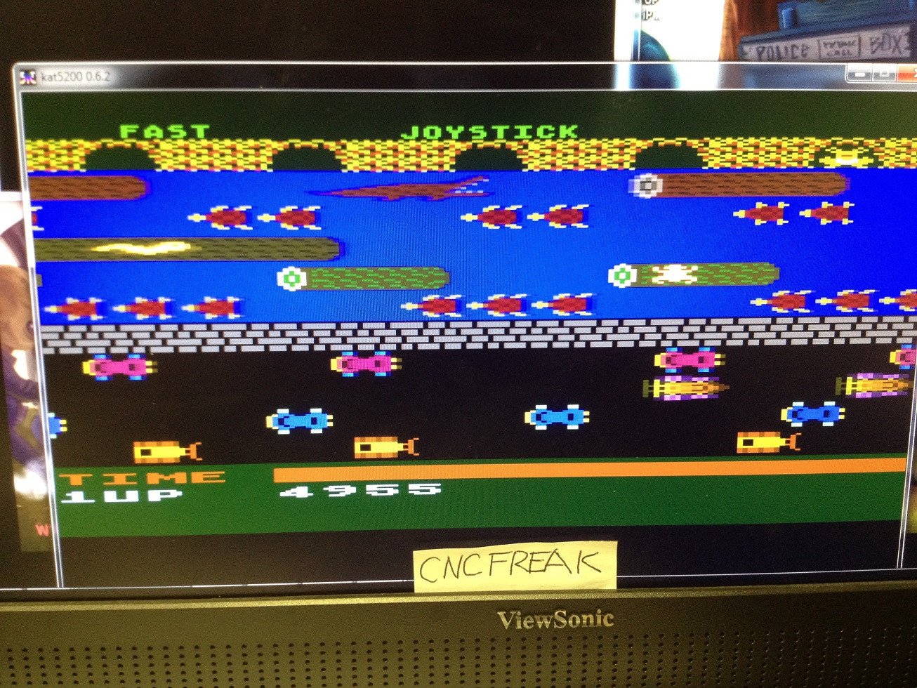 Frogger 4,955 points