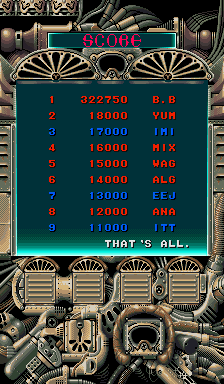 BarryBloso: Thunder Dragon [tdragon2] (Arcade Emulated / M.A.M.E.) 322,750 points on 2015-01-17 04:57:04