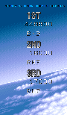 BarryBloso: Rapid Hero [raphero] (Arcade Emulated / M.A.M.E.) 448,800 points on 2015-01-17 05:05:18