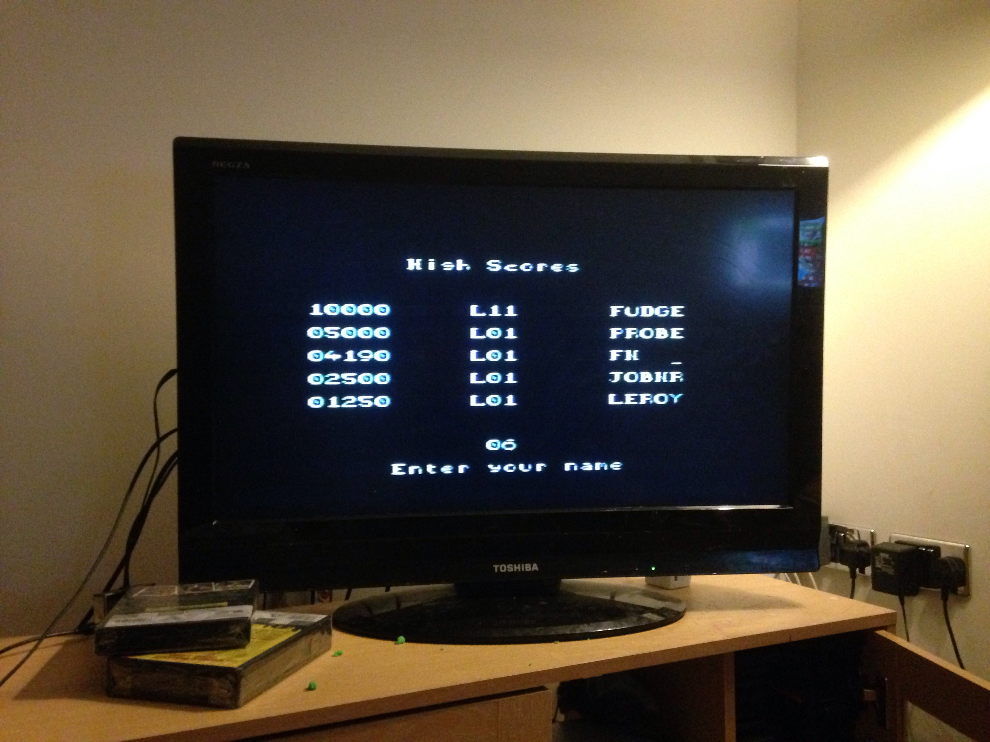 mechafatnick: Alien 3 (Sega Master System) 4,190 points on 2015-01-17 06:58:37