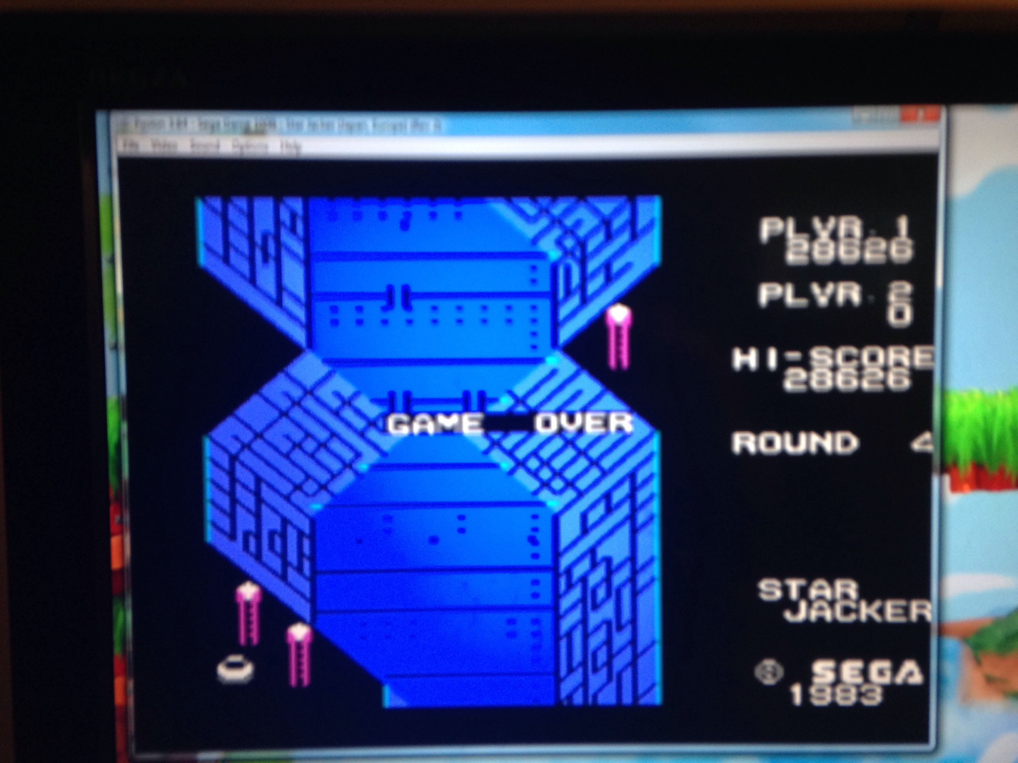 mechafatnick: Star Jacker [Level 1] (Sega SG-1000 Emulated) 28,626 points on 2015-01-17 08:24:58
