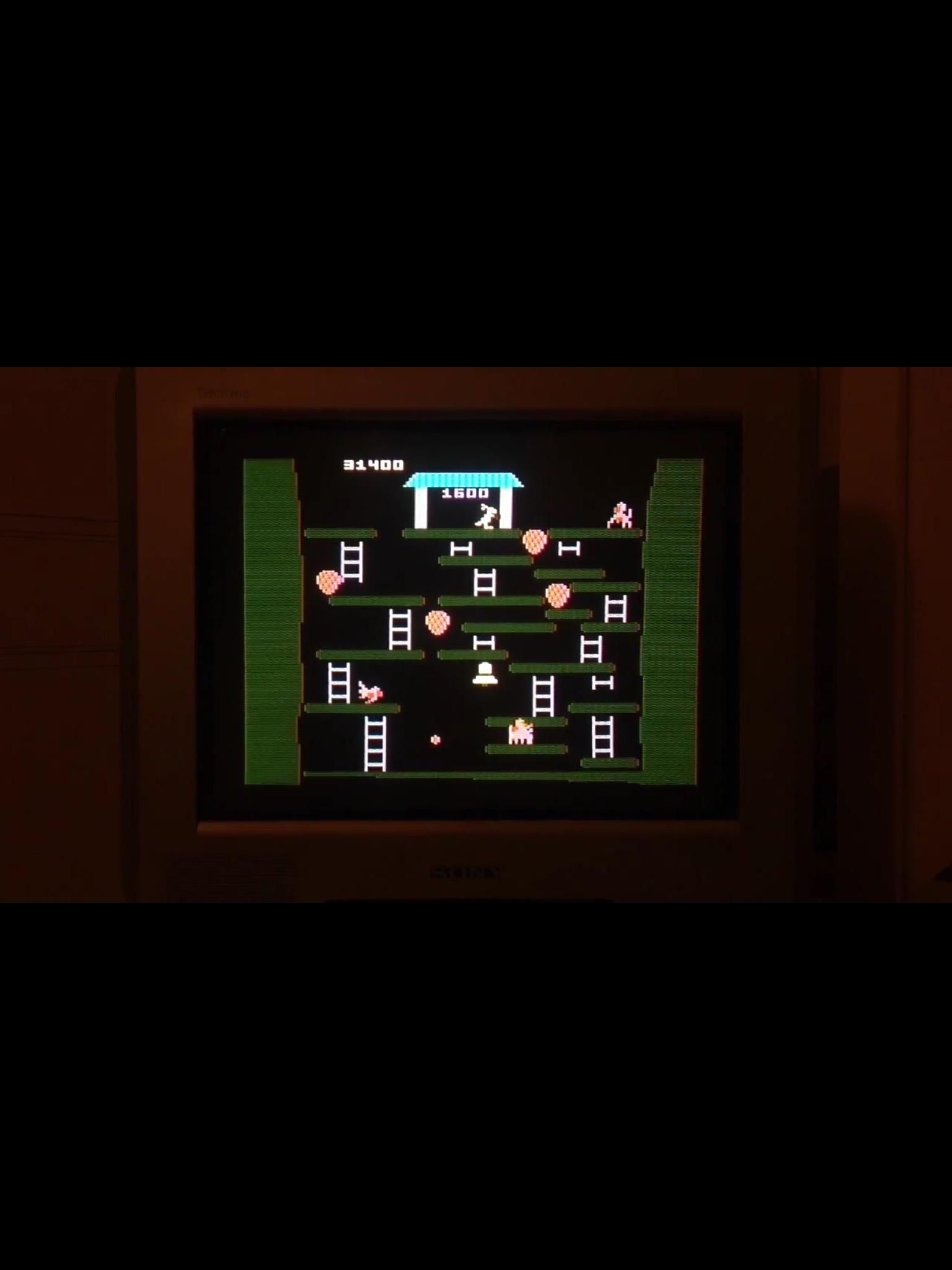 CoCoForest: Kangaroo: Advanced (Atari 5200) 31,400 points on 2015-01-17 12:06:10