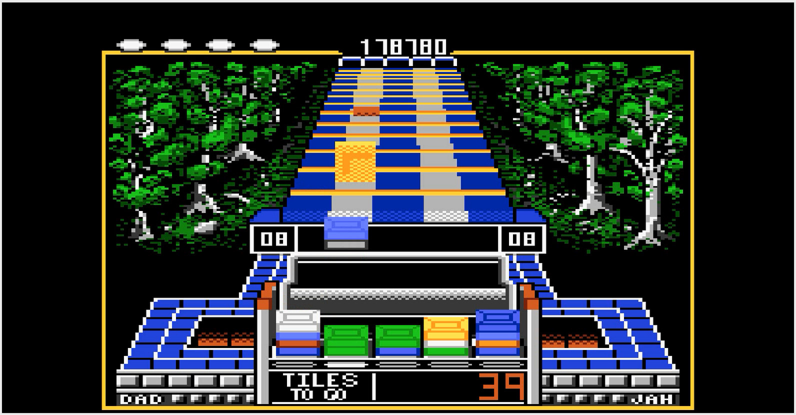 Klax: Hard [Level 06 Start] 178,780 points
