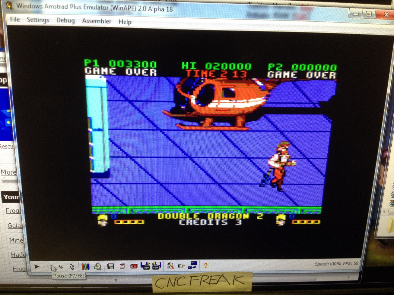 Double Dragon 2 3,300 points