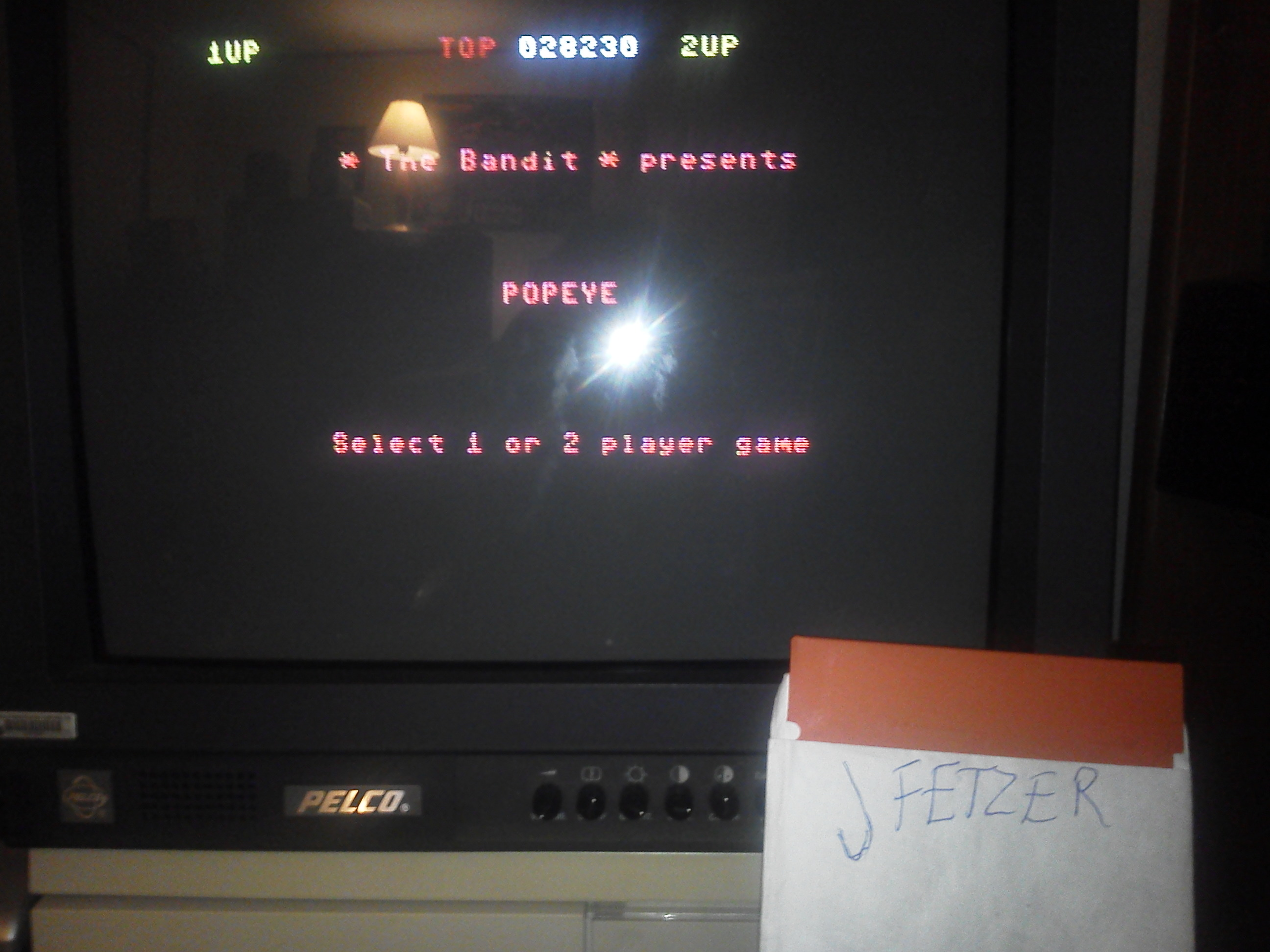 jfetzer: Popeye (Commodore 64) 28,230 points on 2015-01-19 18:26:14