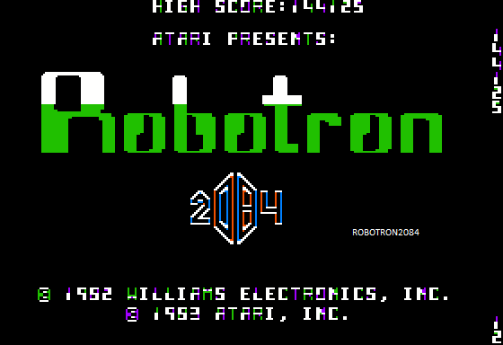 Robotron 2084 144,125 points