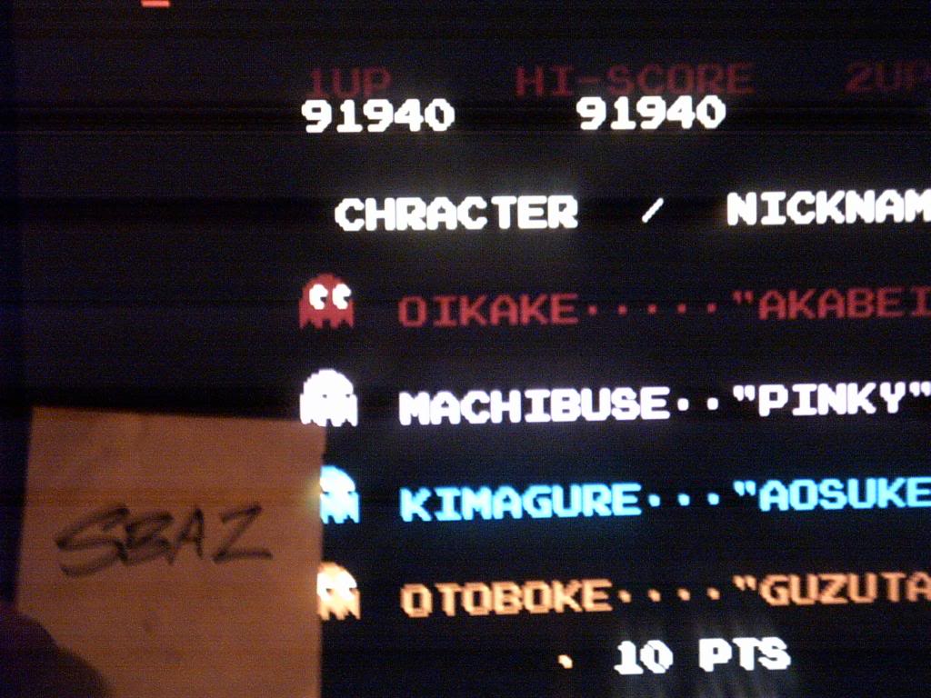Pac-Man 91,940 points