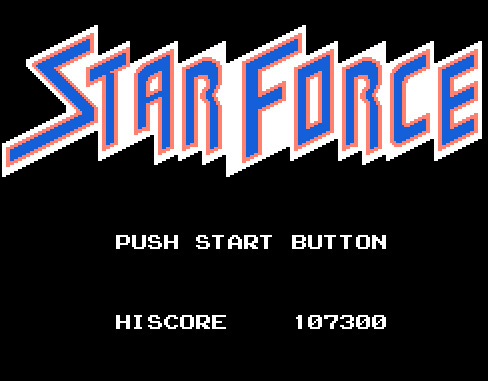Star Force [NES Version] 107,300 points