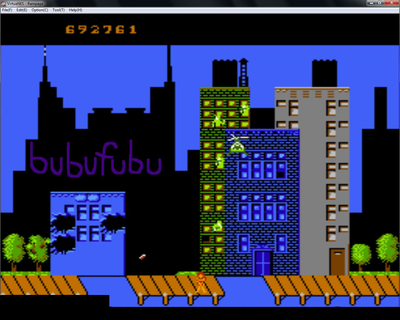 bubufubu: Rampage (NES/Famicom Emulated) 692,761 points on 2015-01-21 20:02:31