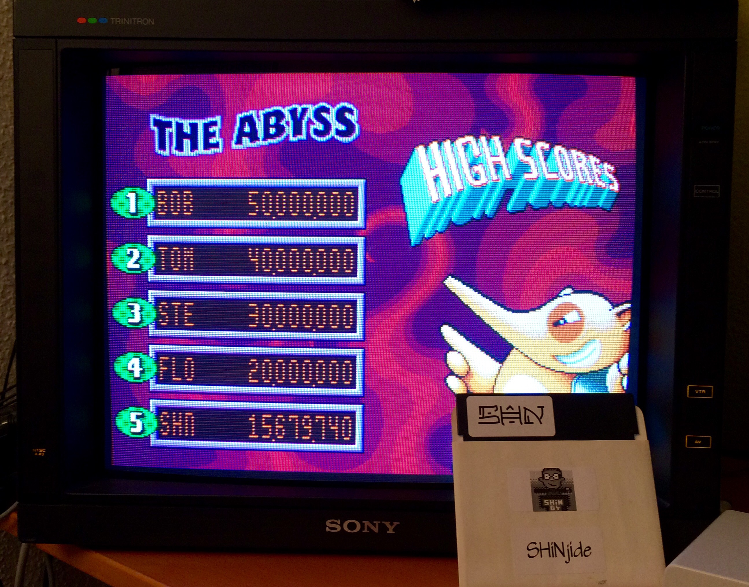SHiNjide: Psycho Pinball: The Abyss [3 Balls/Normal/Game Speed: Normal] (Sega Genesis / MegaDrive Emulated) 15,679,740 points on 2015-01-22 12:37:03