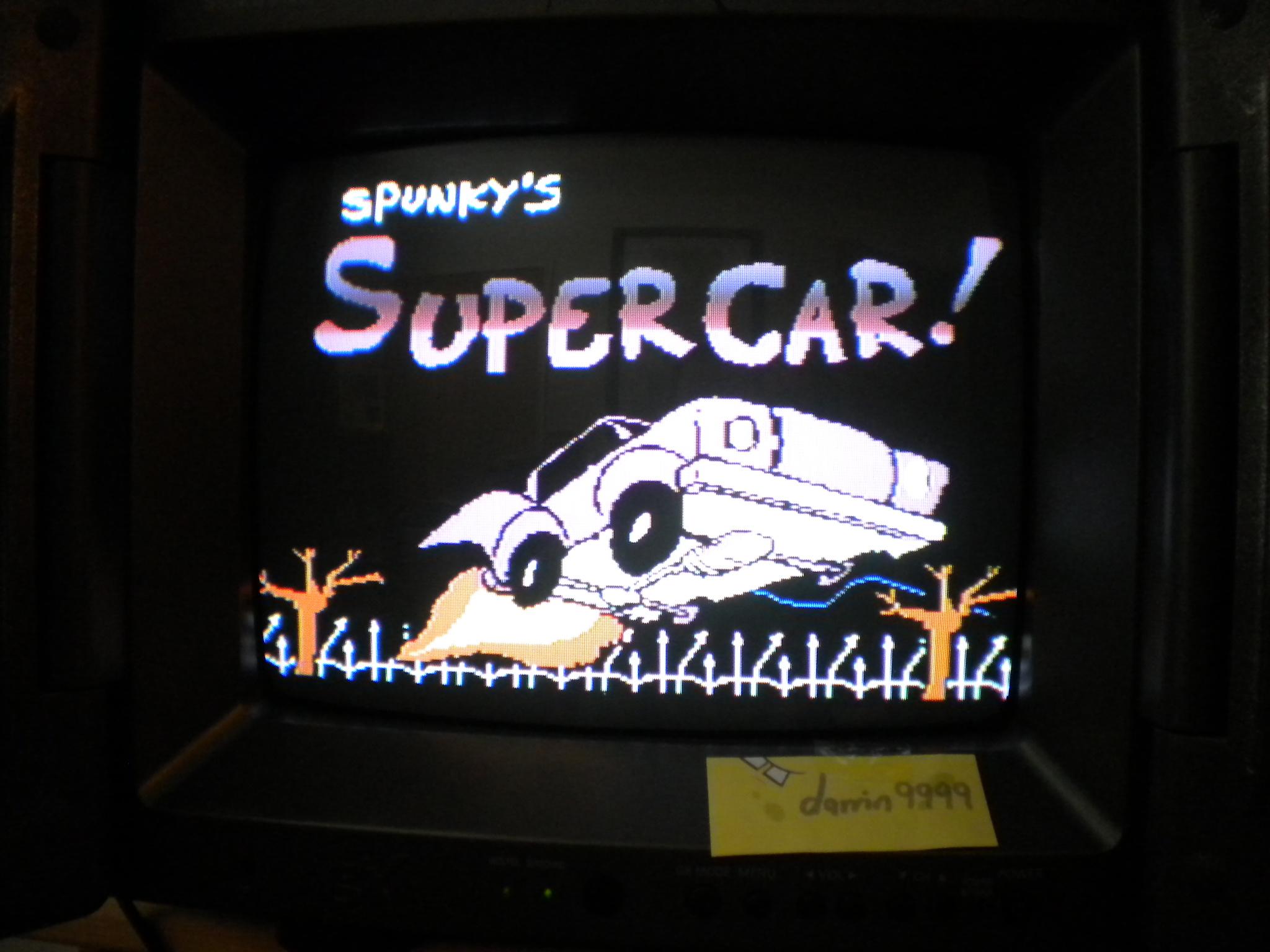 Spunky`s Super Car! 14,000 points