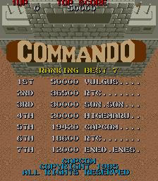 Commando 36,500 points