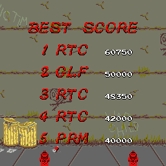 ThreeEightySix: Renegade (Arcade Emulated / M.A.M.E.) 60,750 points on 2015-01-24 12:40:28