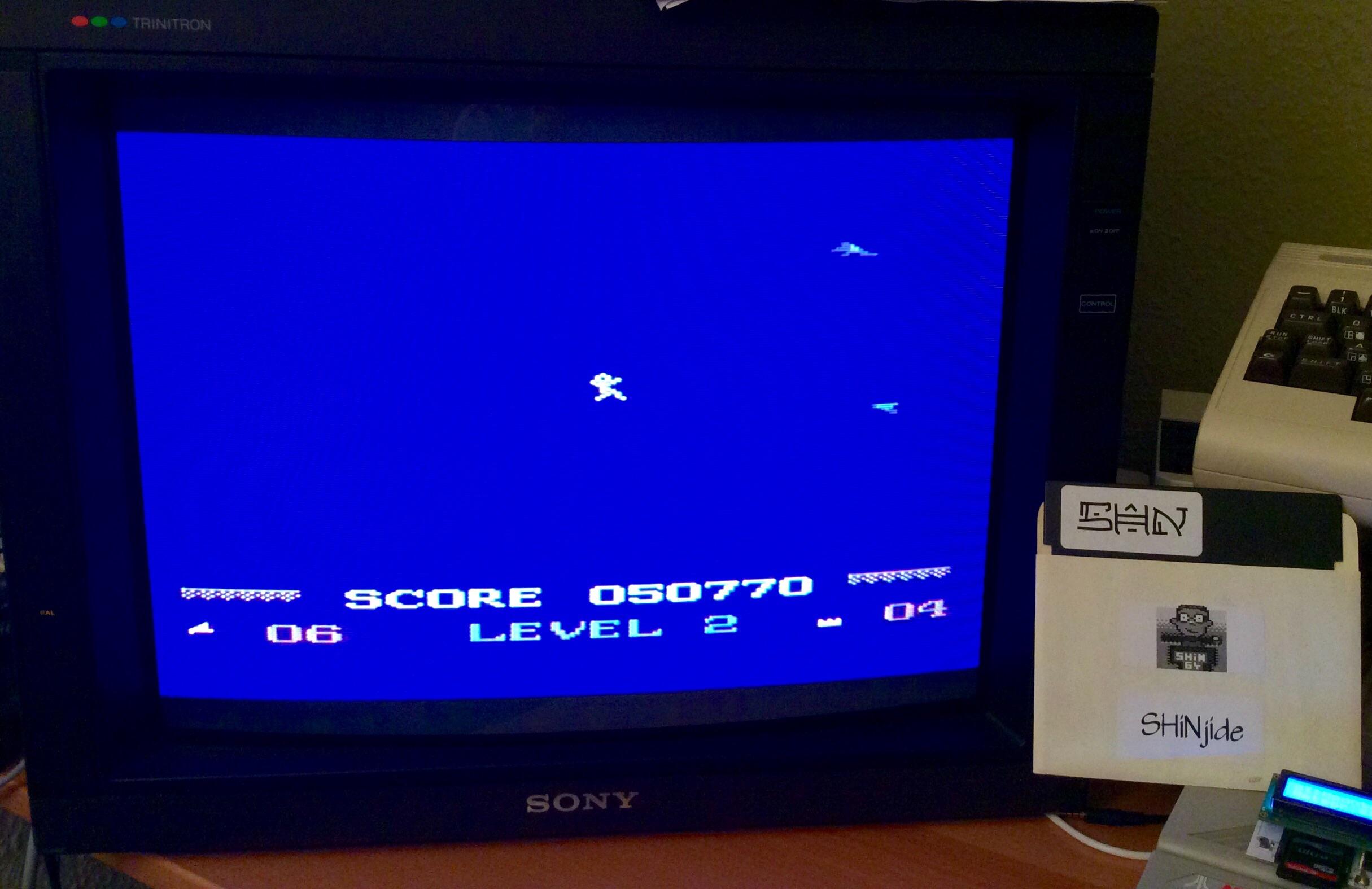 SHiNjide: Mountain King (Atari 400/800/XL/XE) 50,770 points on 2015-01-24 14:39:07