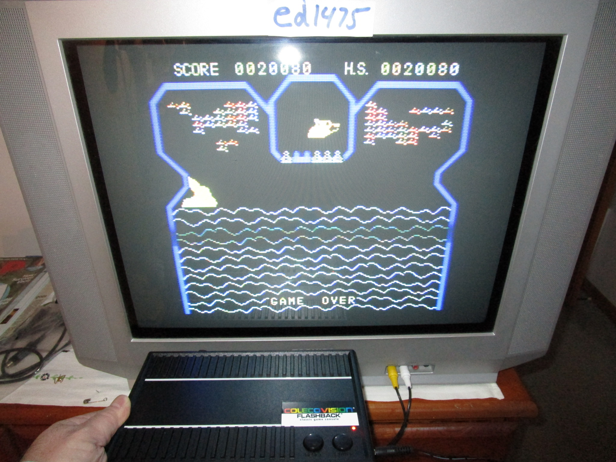 ed1475: Flipper Slipper (Colecovision Flashback) 20,080 points on 2015-01-26 19:43:58