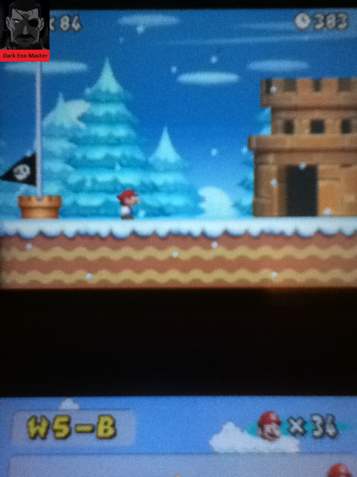 DarkEonMaster: New Super Mario Bros.: World 5-B [Remaining Time] (Nintendo DS) 383 points on 2015-01-27 16:26:03