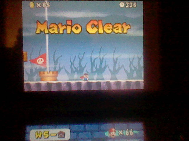 DarkEonMaster: New Super Mario Bros.: World 5-Mansion [Remaining Time] (Nintendo DS) 335 points on 2015-01-27 16:31:56