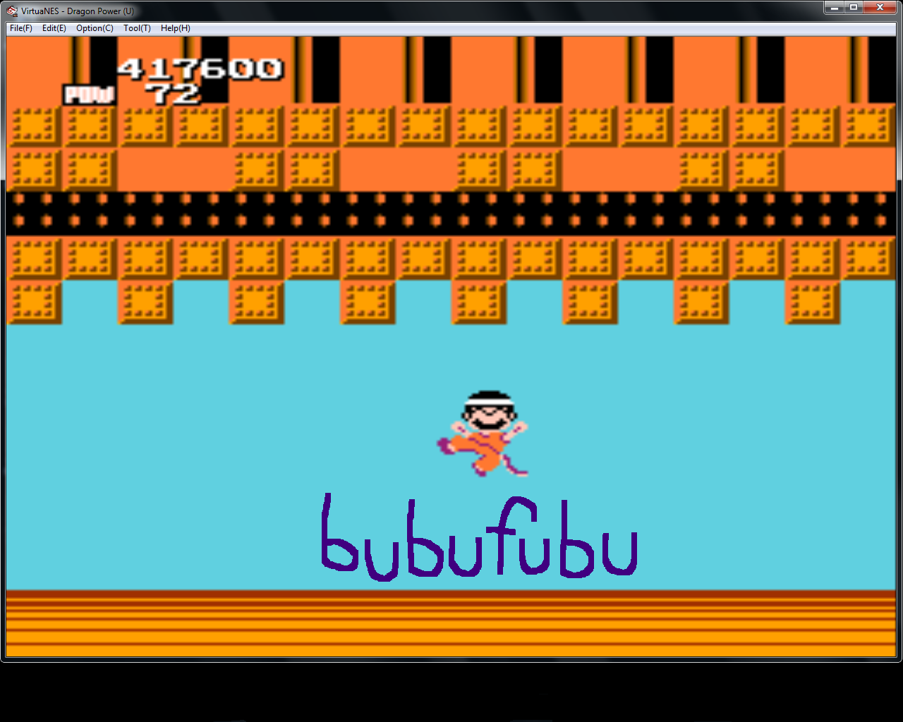 bubufubu: Dragon Power / Dragonball (NES/Famicom Emulated) 417,600 points on 2015-01-29 18:26:24