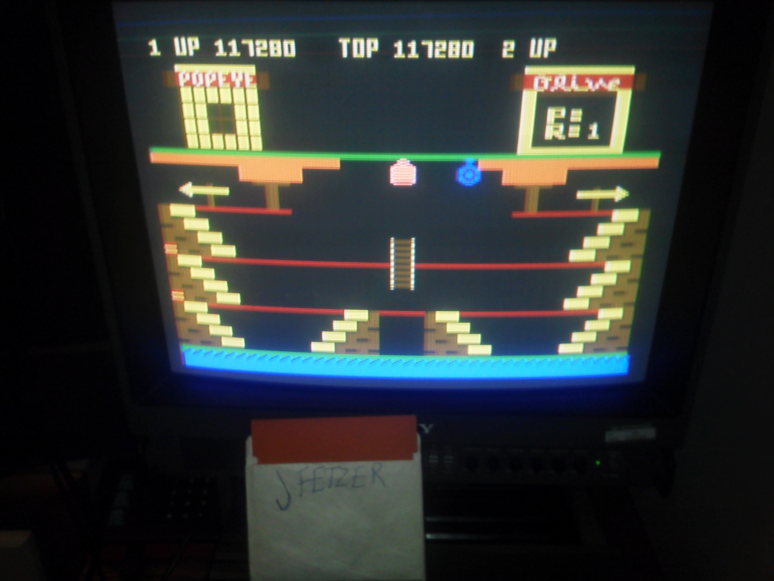 jfetzer: Popeye (Atari 5200) 117,280 points on 2015-01-30 20:10:36