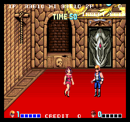 Double Dragon 99,610 points