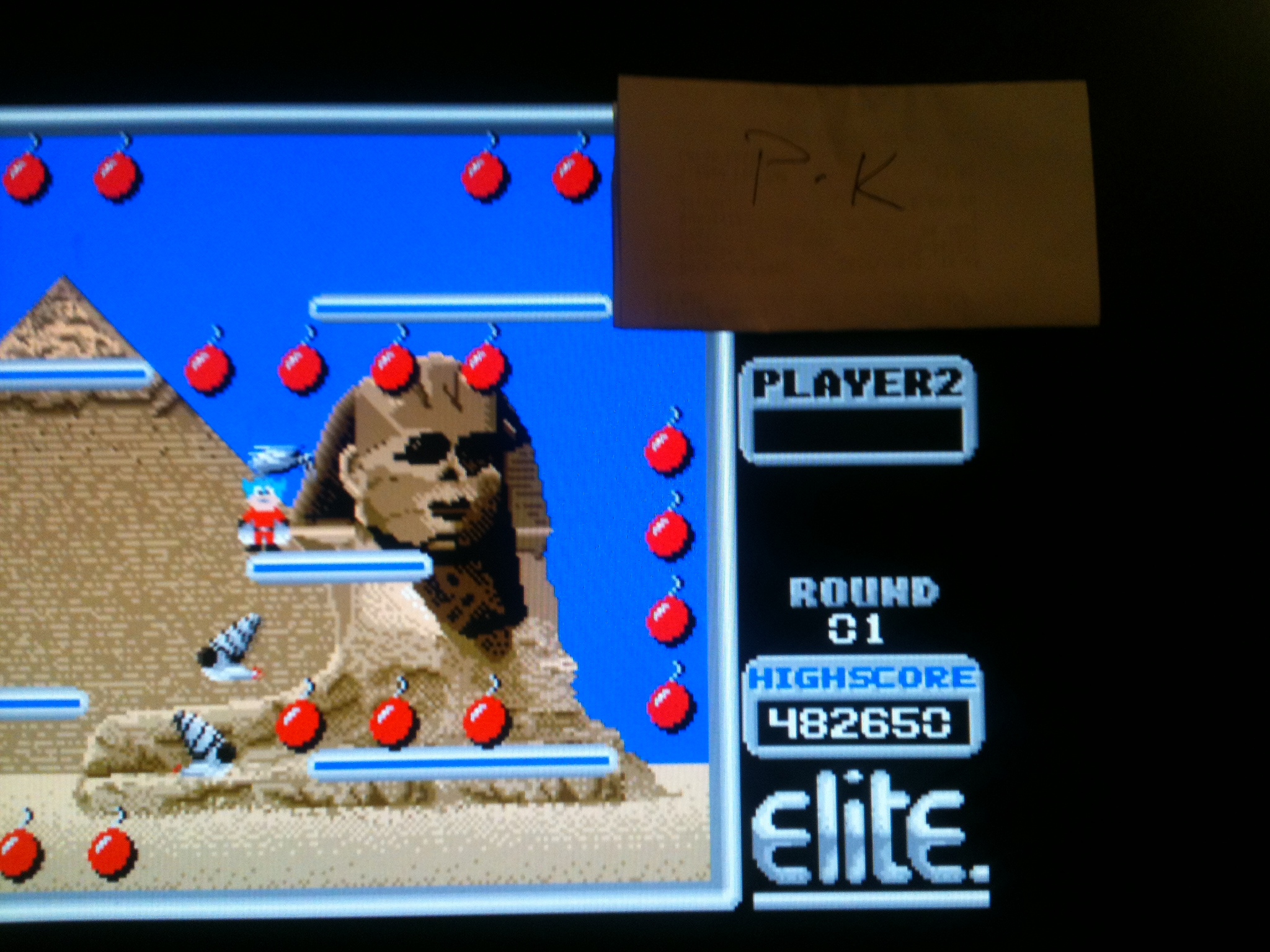 kernzy: Bomb Jack (Atari ST Emulated) 482,650 points on 2015-02-02 07:25:50