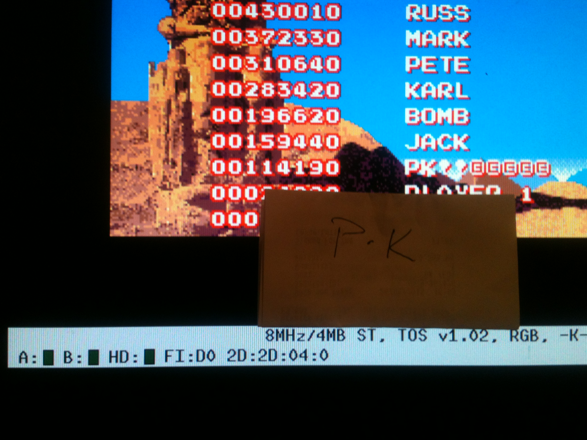 kernzy: Mighty Bomb Jack (Atari ST Emulated) 114,190 points on 2015-02-02 18:26:29