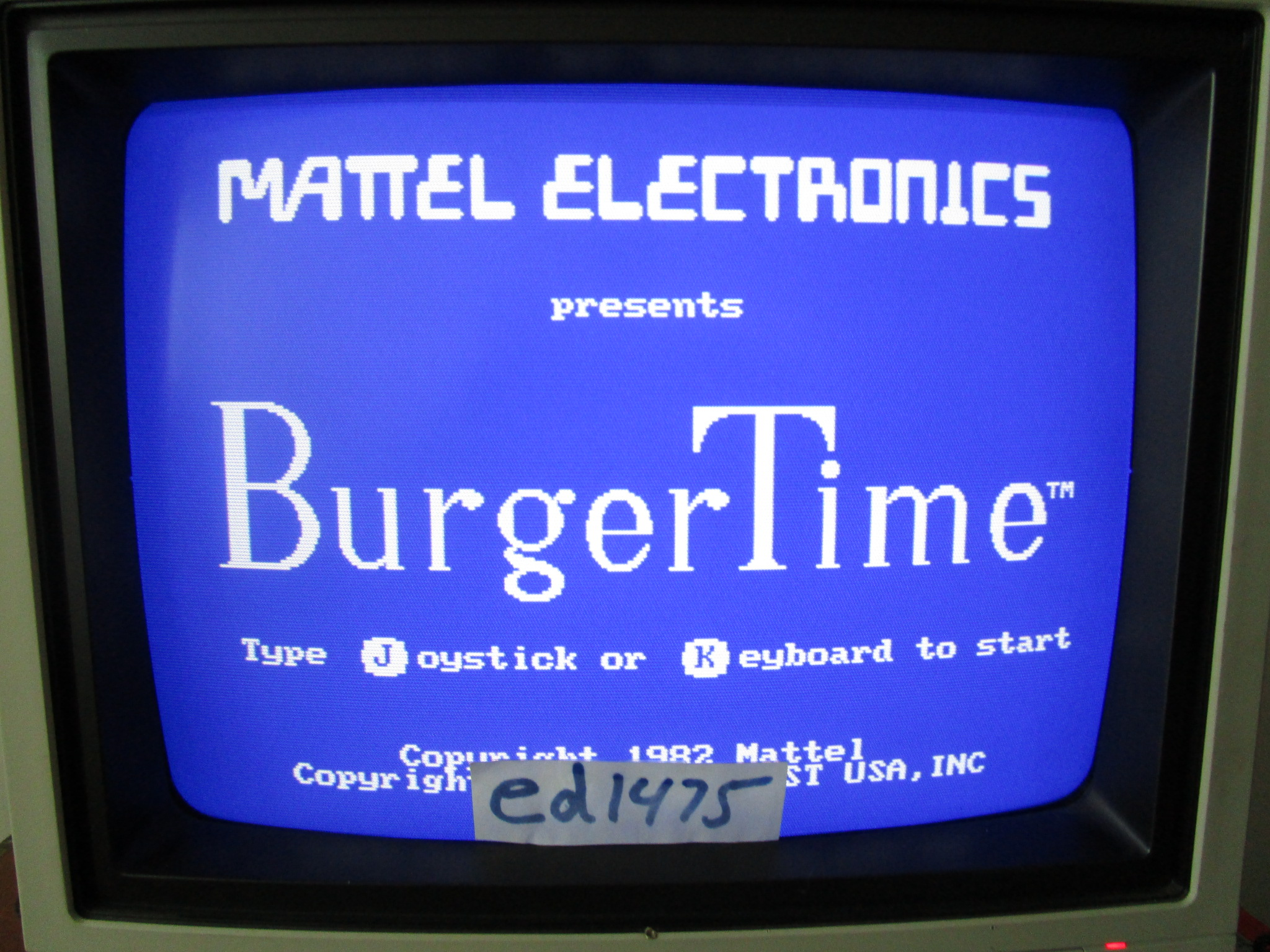 ed1475: Burgertime (PC) 21,300 points on 2015-02-02 20:15:24