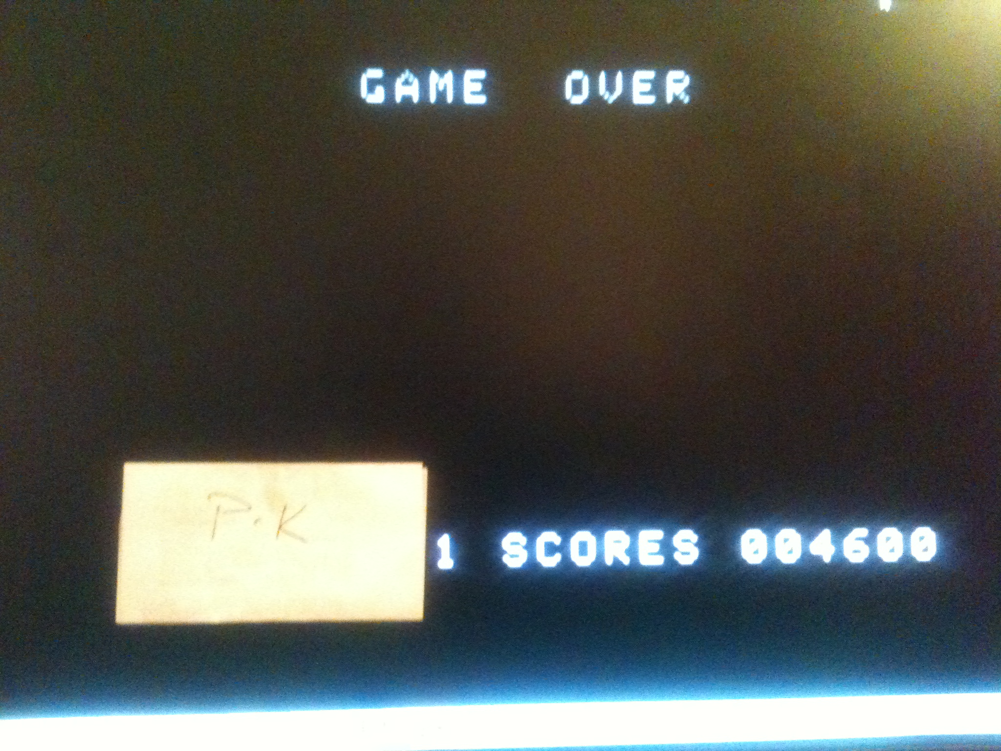 kernzy: Front Line (Colecovision Emulated) 4,600 points on 2015-02-03 21:26:26