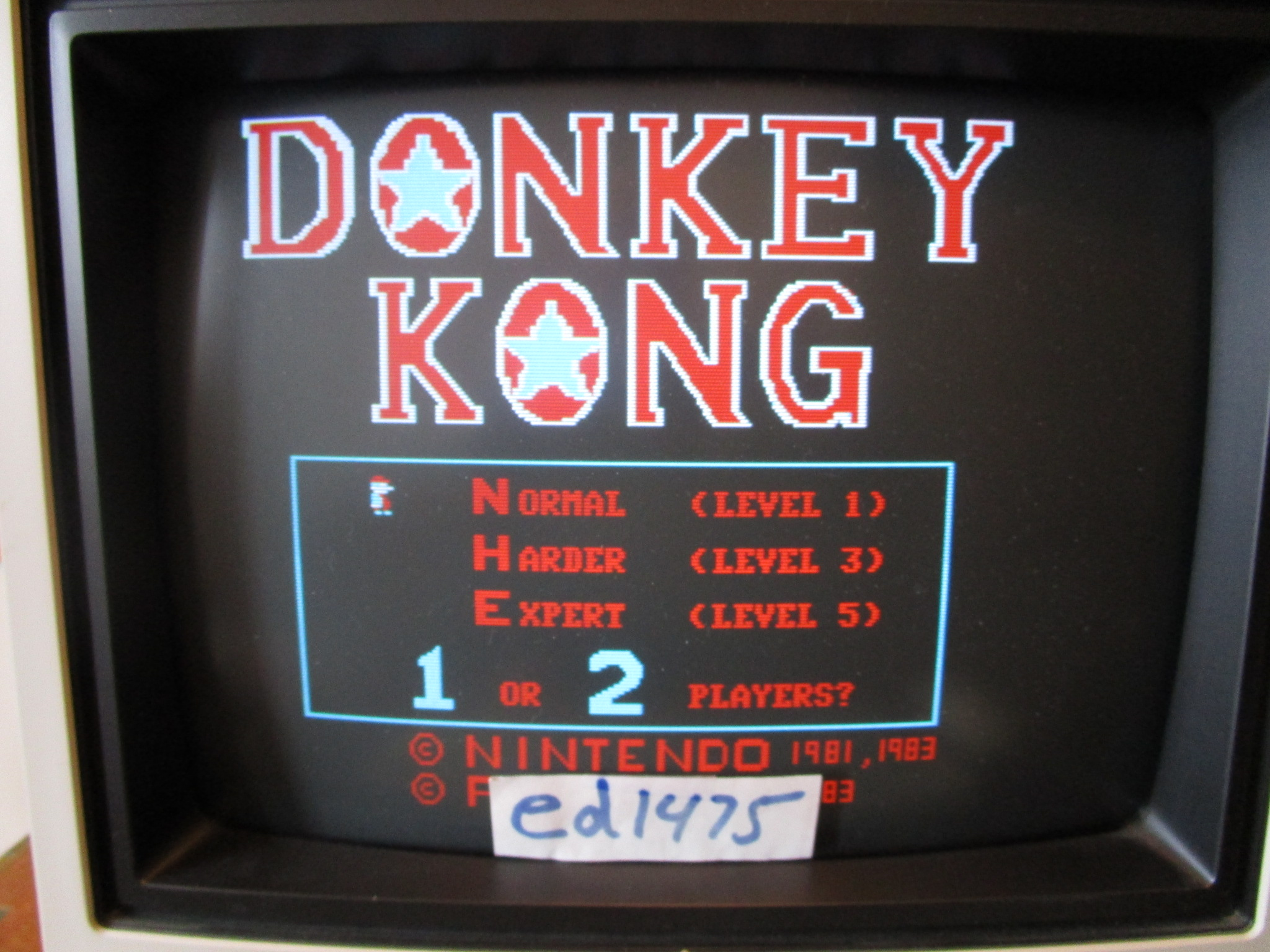 ed1475: Donkey Kong [Normal] (PC) 9,400 points on 2015-02-03 23:54:24