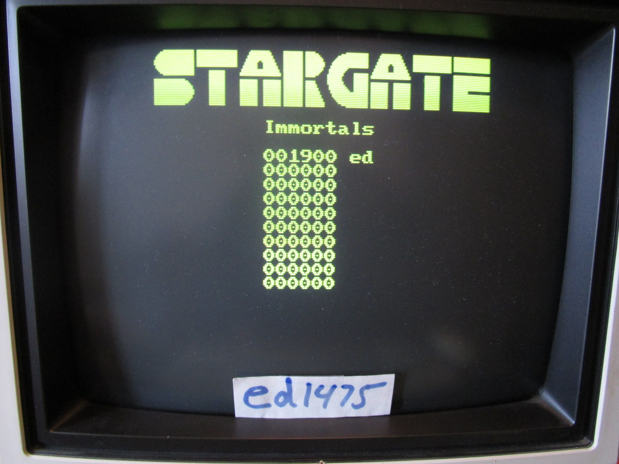 ed1475: Stargate (PC) 1,900 points on 2015-02-03 23:58:33