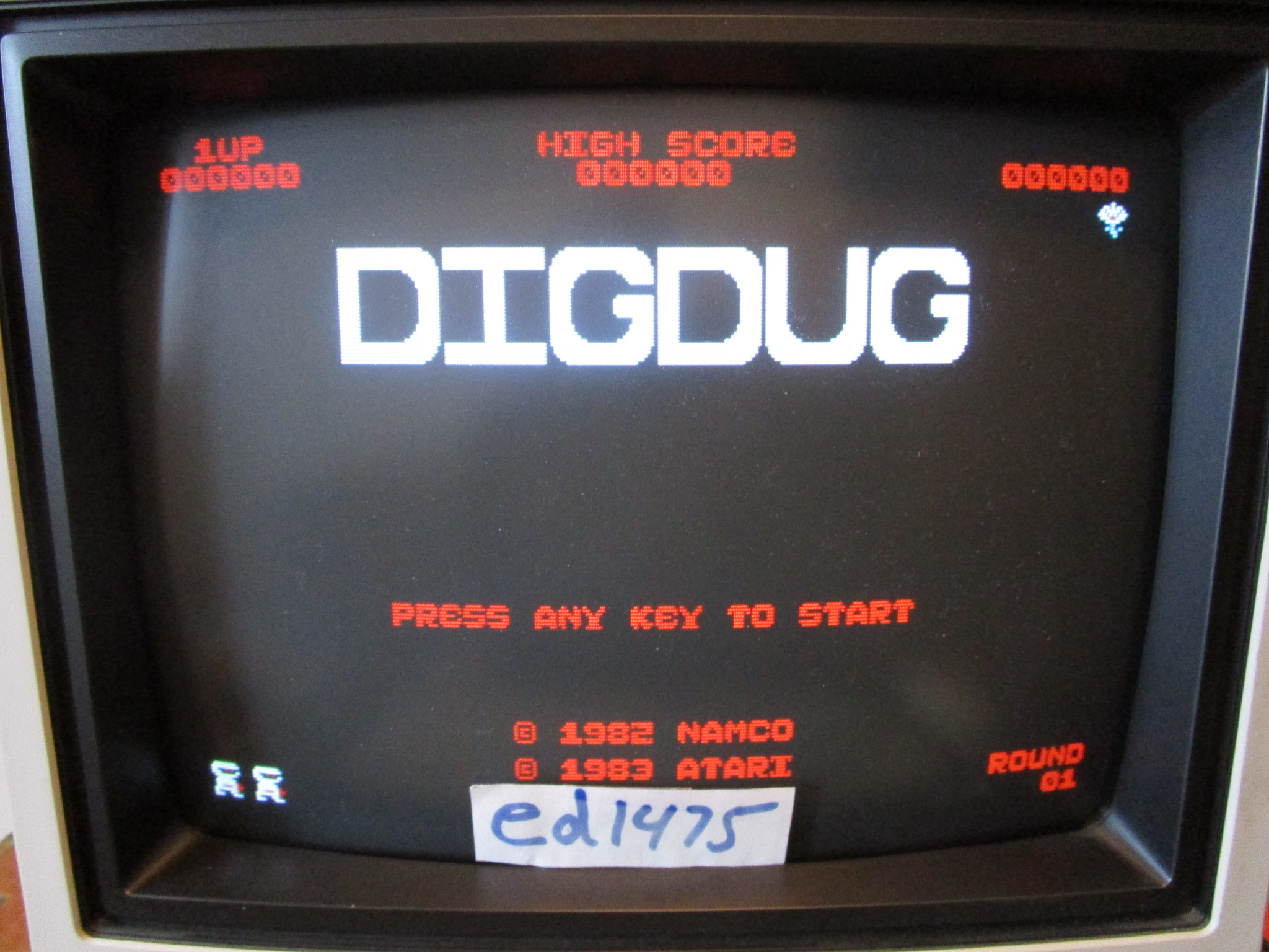 ed1475: Dig Dug (PC) 9,550 points on 2015-02-04 00:01:44