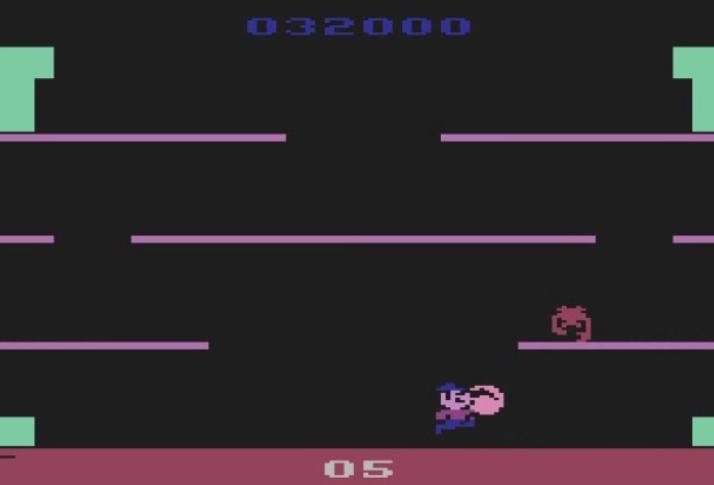 Mario Bros 32,000 points