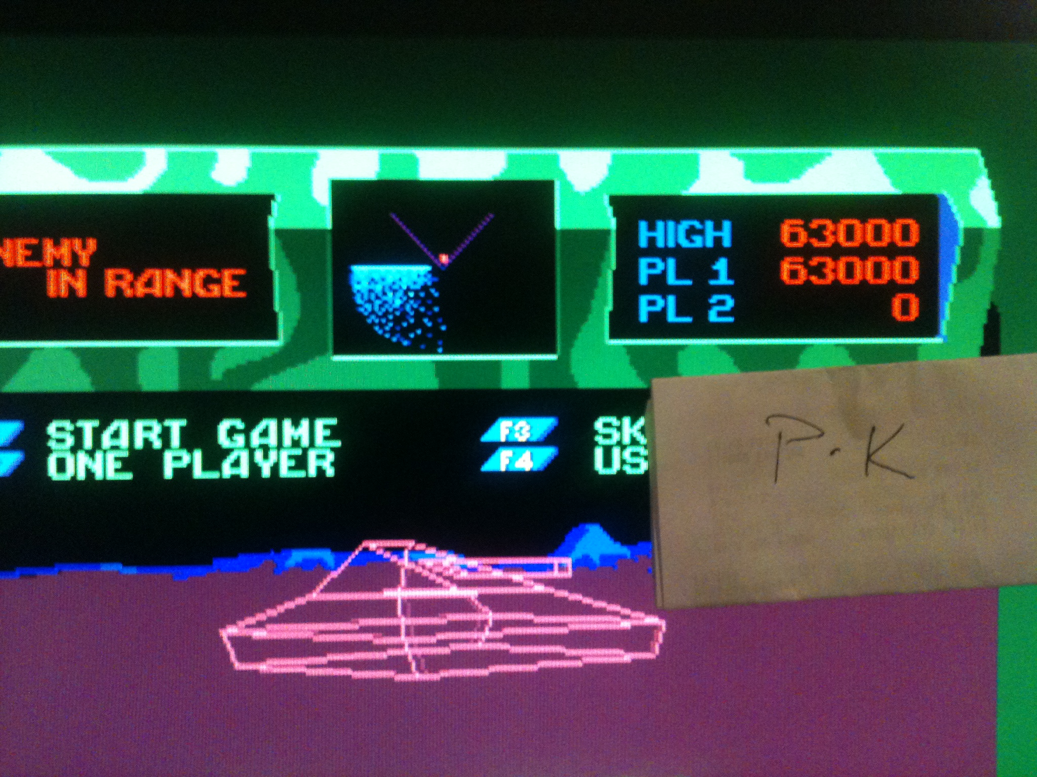 kernzy: Battlezone (Atari ST Emulated) 63,000 points on 2015-02-05 18:05:51